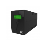 Green Cell UPS01LCD uninterruptible power supply (UPS) Line-Interactive 0.6 kVA 360 W 2 AC outlet(s)