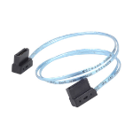 Silverstone CP11 SATA cable 3 m Black,Blue
