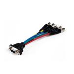"Comprehensive VGA15JLP-5BJ-1HR video cable adapter 11.8"" (0.3 m) VGA (D-Sub) Black"