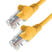 Connekt Gear 20M Yellow RJ45 UTP CAT 6 Stranded Flush Moulded Snagless Network Cable 24AWG LS0H