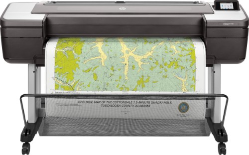 HP Designjet T1700 large format printer Thermal inkjet Colour 2400 x 1200 DPI 1118 x 1676 mm