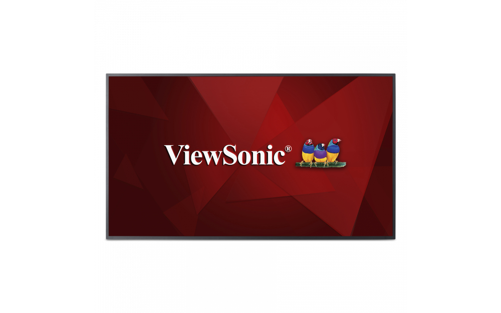 "Viewsonic CDE5510 signage display 139.7 cm (55"") LED 4K Ultra HD Black"
