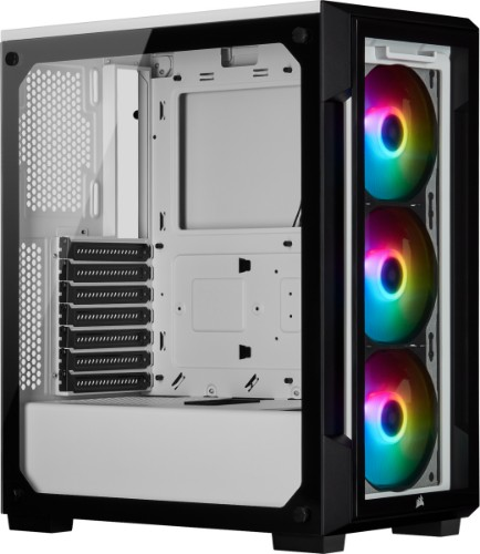 Corsair iCUE 220T RGB Midi-Tower White