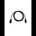 V7 V7DPPRO-2M-BLK DisplayPort kabel Zwart