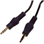 Cablenet 1MSP-SP 1m 3.5mm 3.5mm Black audio cable