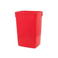 ADDIS 60L FLIP TOP RECYCLE BIN BASE RED