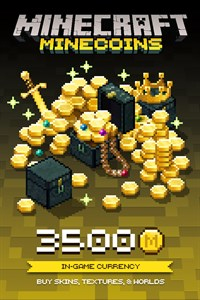 Microsoft Minecraft Minecoin Pack: 3500 Coins