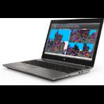 "HP ZBook 15 G5 Silver Mobile workstation 39.6 cm (15.6"") 1920 x 1080 pixels 8th gen Intel® Core™ i7 8 GB DDR4-SDRAM 512 GB SSD NVIDIA® Quadro® P1000 Wi-Fi 5 (802.11ac) Windows 10 Pro"