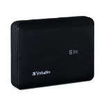 Verbatim Dual USB Power Pack, 10400mAh – Black