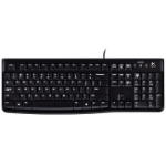 Logitech K120 USB Black keyboard