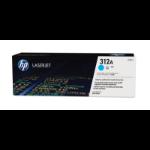 HP 312A Origineel Cyaan 1 stuk(s)