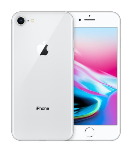 "Apple iPhone 8 11.9 cm (4.7"") 64 GB Single SIM 4G Silver"