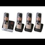 Panasonic KX-TG6724 DECT Caller ID Black