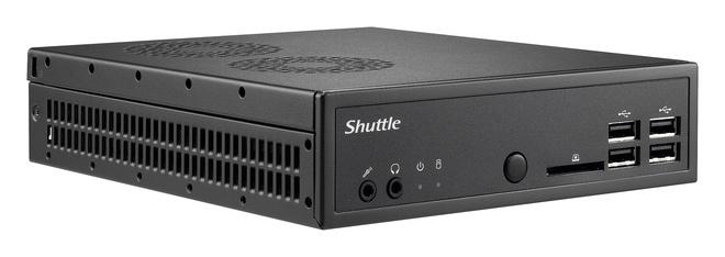 Shuttle DS81 Intel H81 Socket H3 (LGA 1150) Net-top Black barebone