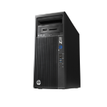 HP Z230 Intel® Xeon® E3 V3 Family E3-1226V3 8 GB DDR3-SDRAM 1000 GB HDD Mini Tower Black Workstation Windows 7 Professional