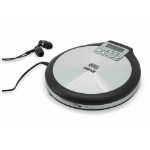 Soundmaster CD9220 Portable CD player Black,Stainless steel CD player