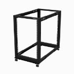 StarTech.com 18U open frame rack - 4 stijlen - verstelbare diepte