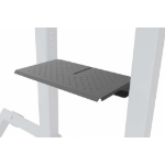 Heckler Design H491-BG multimedia cart accessory Shelf Black, Grey Steel