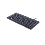 R-Go Tools R-Go Compact Break Keyboard, QWERTY (ND), black, wired