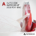 Autodesk AutoCAD LT 2019 for Mac 1 licencia(s) Electronic License Delivery (ELD) Plurilingüe