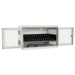 Tripp Lite 16-Device AC Charging Station Cabinet for Chromebooks and Laptops, Wall-Mount and Cart Options, White