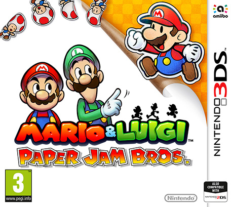 Nintendo Mario & Luigi: Paper Jam Bros., 3DS