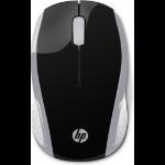 HP 200 mouse Ambidextrous RF Wireless 1000 DPI