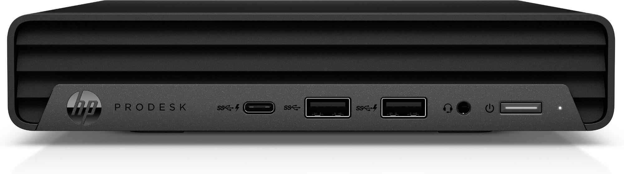 HP ProDesk 400 G6 DDR4-SDRAM i5-10500T mini PC 10th gen Intel-� Core��� i5 8 GB 256 GB SSD Windows 10 Pro Black