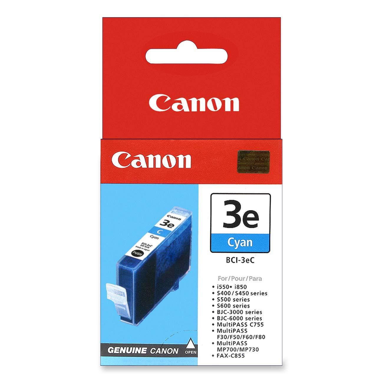 Canon BCI-3EC inktcartridge Original Cyaan 1 stuk(s)