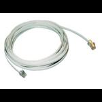 MCL Cordon plat RJ11 6P/4C - RJ45 3 metres cable de red 3 m Blanco