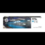 HP F6T81AE (973X) Ink cartridge cyan, 7K pages, 86ml