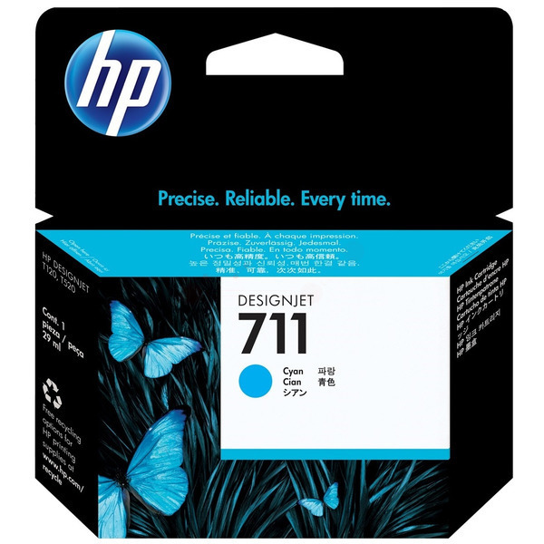 HP CZ130A (711) Ink cartridge cyan, 29ml