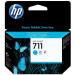 HP CZ130A (711) Ink cartridge cyan, 29ml