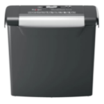 Rexel S206 paper shredder Strip shredding 22 cm Black,Silver