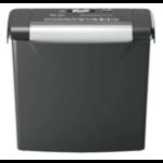 Rexel S206 paper shredder Strip shredding 22 cm Black, Silver