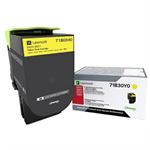 Lexmark 73B0040 Toner yellow, 15K pages