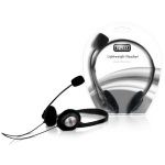 Sweex Lightweight Headset Black/Silver