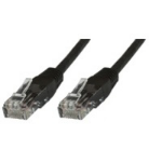 Microconnect Cat6 UTP 1m 1m Black networking cable