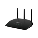 Netgear R6850 wireless router Dual-band (2.4 GHz / 5 GHz) Gigabit Ethernet Black