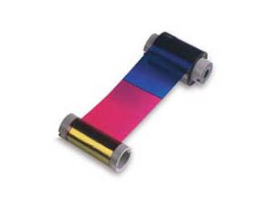 Zebra True Colours i Series YMCK ribbon cinta para impresora