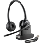 Plantronics W420 Binaural Head-band Black headset