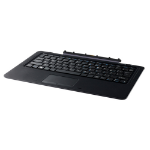 Fujitsu FPCKE611AP mobile device keyboard QWERTY English Black