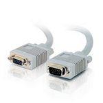 C2G 0.5m Monitor HD15 M/F cable cable VGA 0,5 m VGA (D-Sub) Gris