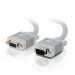 C2G 0.5m Monitor HD15 M/F cable
