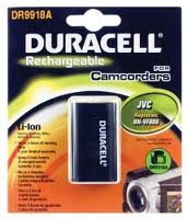 Duracell Camcorder Battery 7.4v 750mAh 5.6Wh