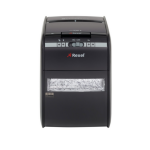 Rexel Auto+ 90X Cross shredding 60dB Black paper shredder