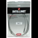 Intellinet 15m, Cat 5e UTP networking cable Cat5e Grey