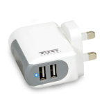 Port Designs 900020 Indoor White mobile device charger