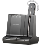 Plantronics W745 Monaural Ear-hook Black headset