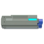 Xerox 006R03126 compatible Toner cyan, 2K pages, Pack qty 1 (replaces OKI 43381907)